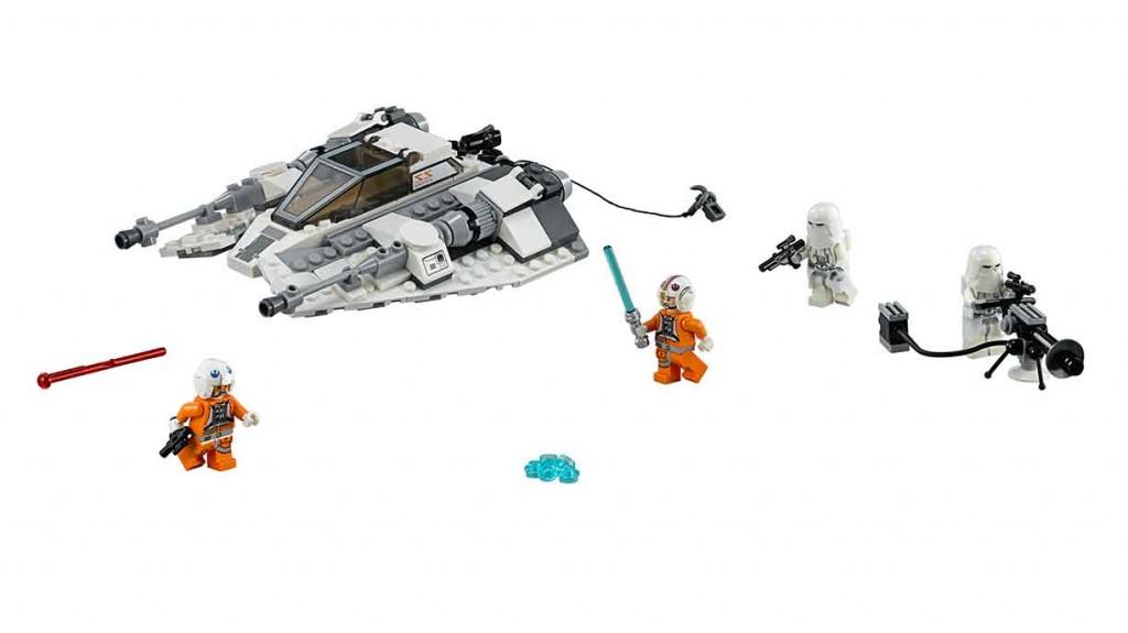 star wars lego snow speeder